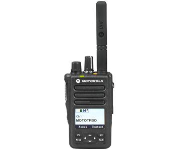 Motorola DP3661e two-way radio 2cl communications