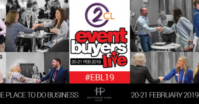Event Buyers Live 2019 2CL Communications two-way radios event hire