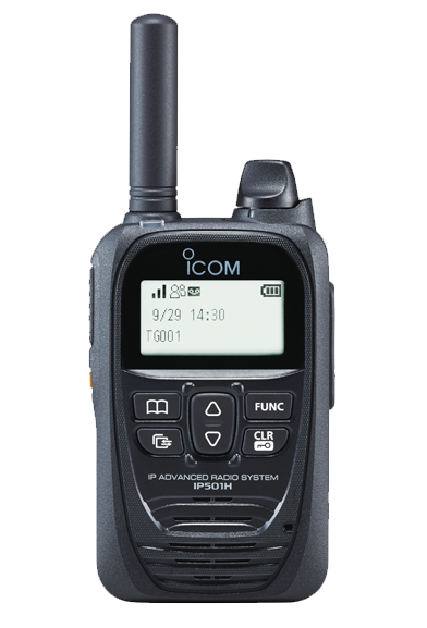 Icom IP501H LTE 3G 4G Wi-Fi two-way radio 2CL Communications 2CL Talk