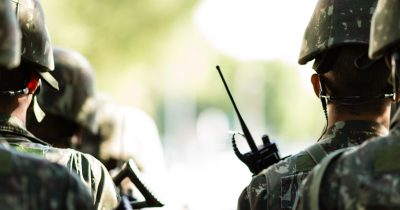 DSEI Military Radio Hire