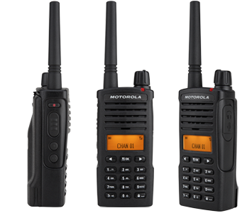 Motorola XT660d two-way radio 2cl communications