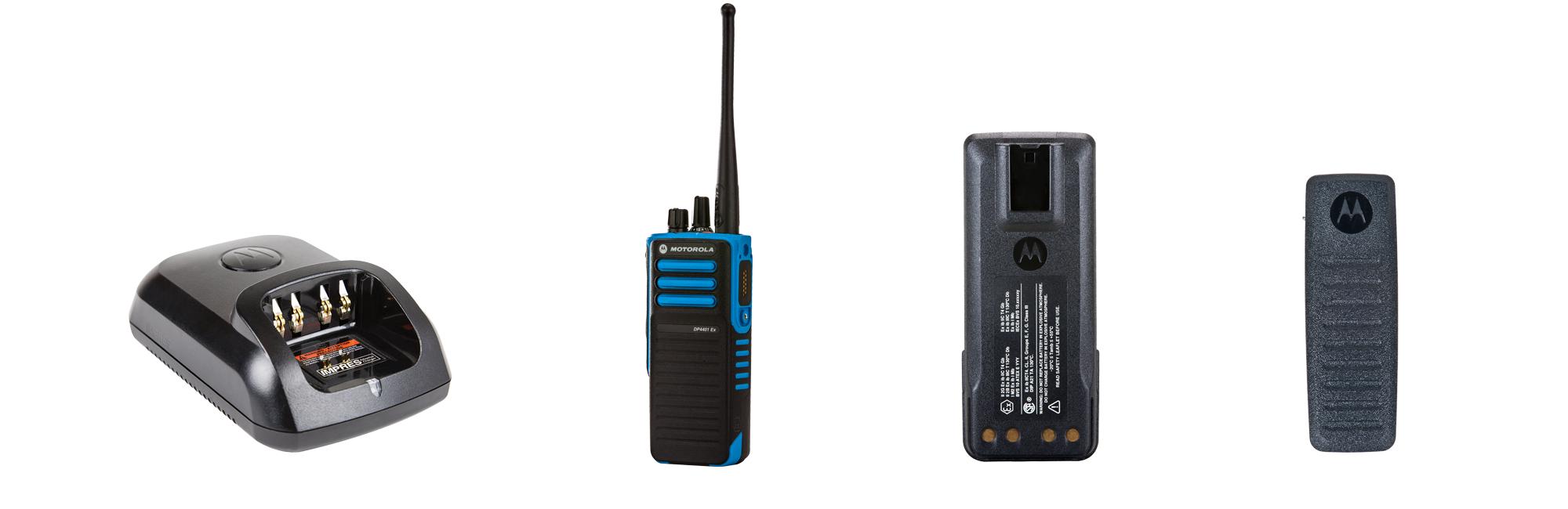 motorola atex dp4401 two way radios
