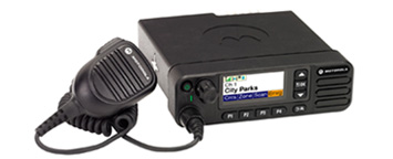 Motorola DM4600 mobile radio