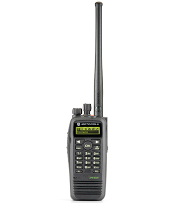 Motorola DP3600 two-way radio