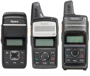 Hytera Digital two-way Radios