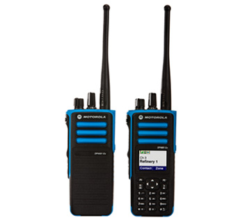 DP4401ex DP4801ex motorola atex two way radio